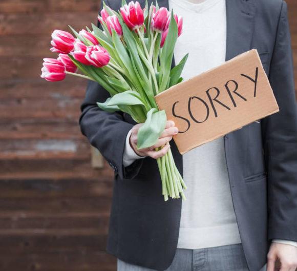 consejos para saber pedir perdón